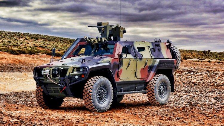 Gana, Sınırlarını Otokar Cobra II ile Koruyor