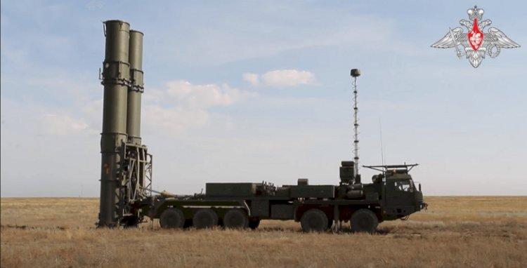 Rusya S-500 Sisteminin Test Görüntülerini İlk Kez Yayınladı